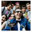 Wedding Party Vicces Fotó Kellékek