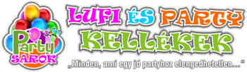 Partysarok - Lufi és Partykellékek
