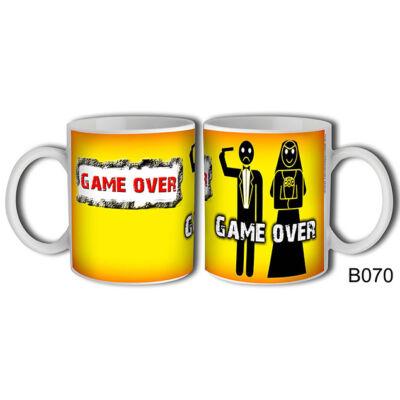 Game Over felíratú bögre