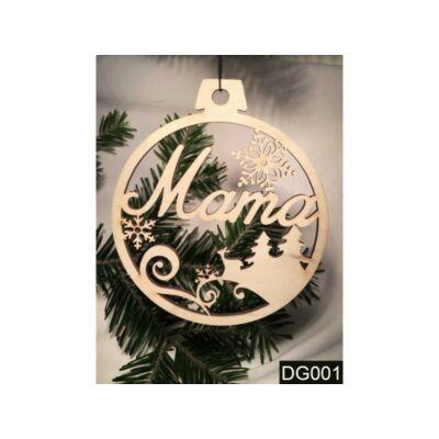 Karácsonyfa Dísz - Mama