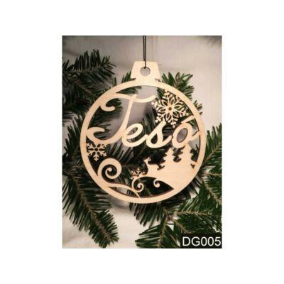 Karácsonyfa Dísz - Tesó