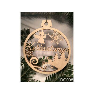 Karácsonyfa Dísz - Keresztanya