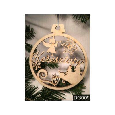 Karácsonyfa Dísz - Keresztapa