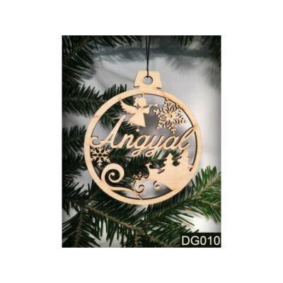 Karácsonyfadísz - Angyal