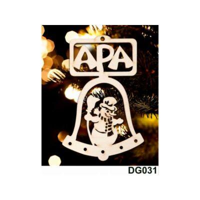 Karácsonyfadísz - Csengő - Apa