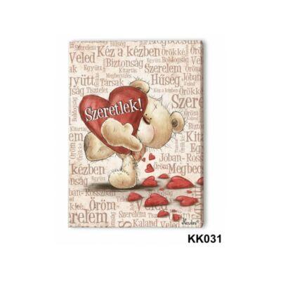Falikép - Szeretlek szavakkal