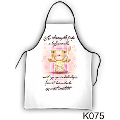 Kötény - Az édesanyák főztje