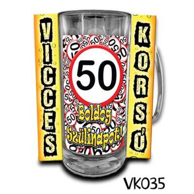 Korsó - Boldog Szülinapot 50