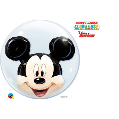 24 inch-es Disney Mickey Mouse Double Bubbles Lufi