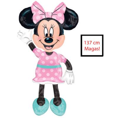 Minnie Mouse Sétáló Fólia Lufi