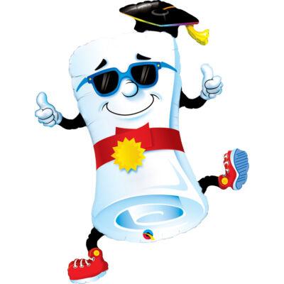 Mr. Diploma - Thumbs Up! Ballagási Fólia Léggömb