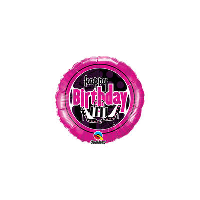 Női Mulatság - Birthday Feminine Fun Születésnapi Fólia Léggömb