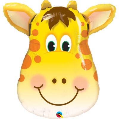 Jolly Giraffe - Zsiráf Fej Fólia Léggömb