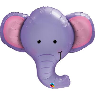Elefánt Fej - Ellie the Elephant Fólia Léggömb