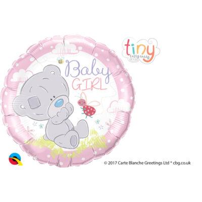 Tiny Tatty Teddy Baby Girl Fólia Léggömb