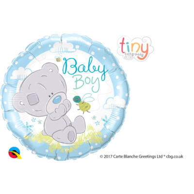 Tiny Tatty Teddy Baby Boy Fólia Léggömb