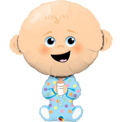 Baby Boy - Kisfiús Baba Fólia Léggömb Babaszületésre