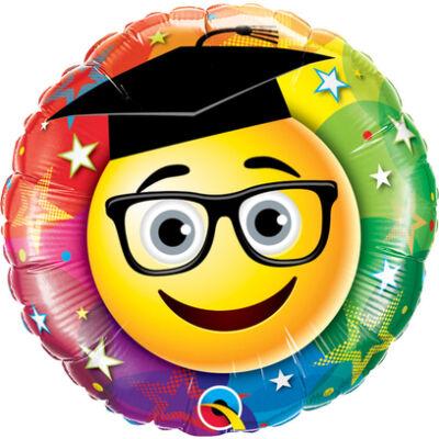 Smiley Graduate - Gratulálunk Ballagási Fólia Léggömb