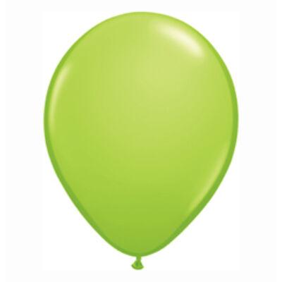 Lime Zöld Színű Kerek Gumi Lufi - 28 cm