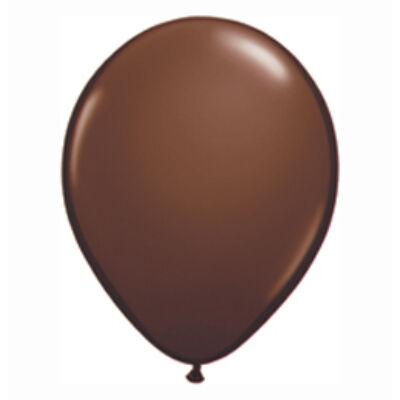 Csokoládébarna Színű Kerek Gumi Lufi - 28 cm