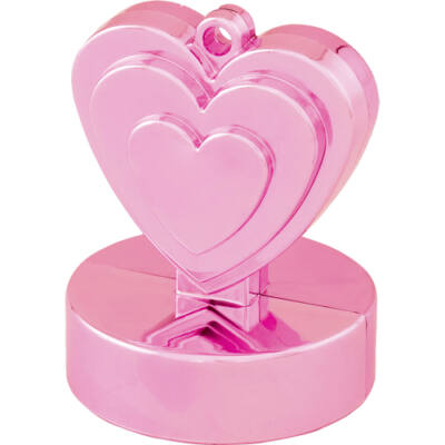 Gyöngyház Rózsaszín Sziv Léggömbsúly - 110 gramm