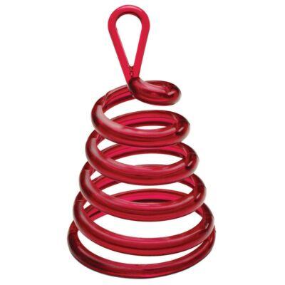 Piros Spirális Sétáló Léggömbsúly - 30 gramm