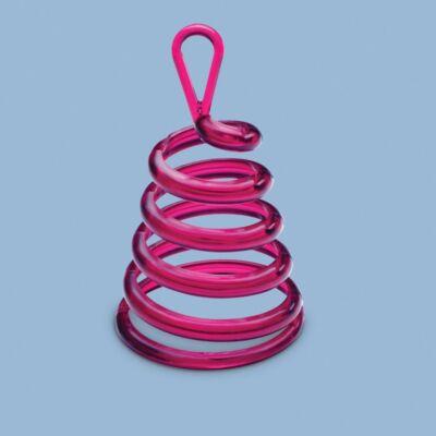 Rózsaszín Spirális Sétáló Léggömbsúly - 30 gramm