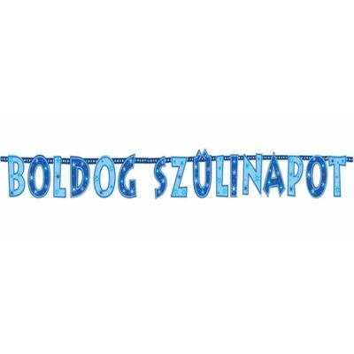Boldog Szülinapot Kék Fiús Betűfüzér - 2,3 m