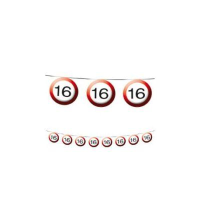 16-os Sebességkorlátozó Szülinapi Parti Füzér - 12 m