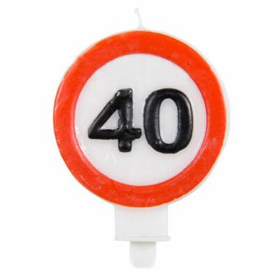 40-es Számos Sebességkorlátozó Gyertya