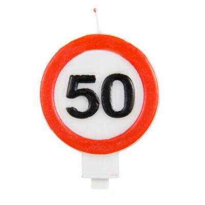 50-es Számos Sebességkorlátozó Gyertya