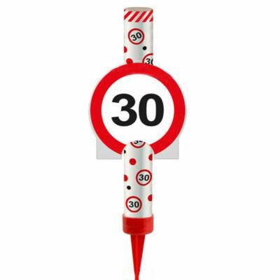 30-as Számos Sebességkolátozó Tortatüzijáték