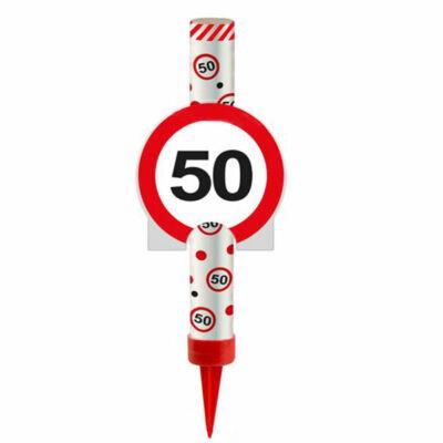 50-es Számos Sebességkolátozó Tortatüzijáték