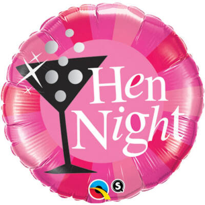 18 inch-es Hen Night Fólia Lufi Lánybúcsú-ra